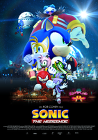Sonic the Hedgehog Movie - Poster by RealSonicSpeed