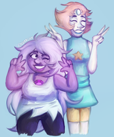 Peace-Sign Pals by Envarchy
