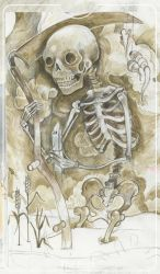 Tarot Death by miorats