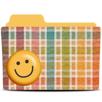 Smile folder icon by akamichan9