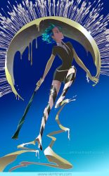 No arrows can touch Phosphophyllite by skimlines