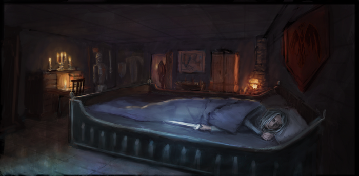 Royal Bed Chamber - Expected assailant by erenik