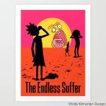 The endless suffer ( Rick and Morty ) by Vitaliy-Klimenko