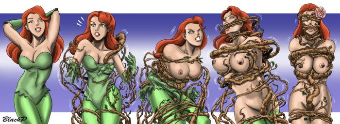 The evolution of Poison Ivy by BlackProf