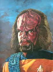 Worf by ssava