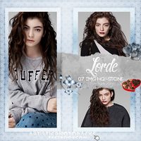 -Photopack Lorde 01 by SomeoneInTheForest