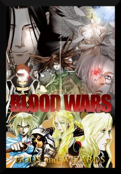 Blood Wars: Gods and Wizards (cover) by MlleRevenant