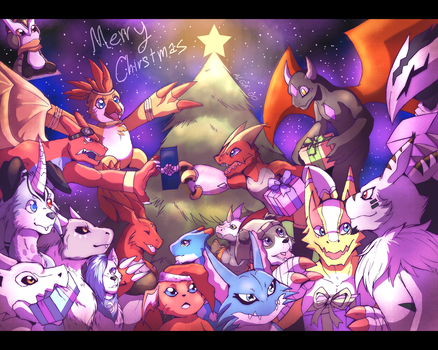 Merry Christmas 2016 by DeltaCreep
