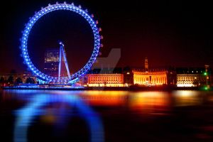 the eye at night by gtimages