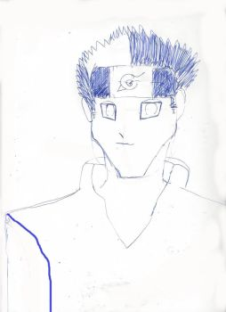 Naruto Handsome Oc! by rickchart