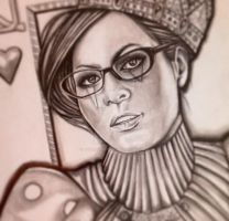 Queen of Hearts by ASanchezDesigns
