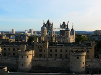 London Tower and Tower Bridge by L-Spiro