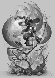 Witch Luna (oc character) by tom23579