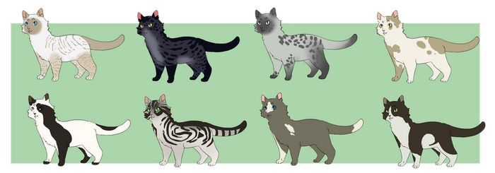 Cat Adopts :OPEN: by Wheezington