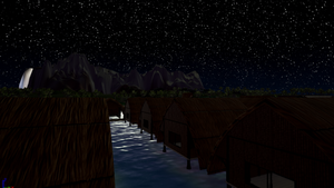 Night Time On Wahoo beach 3 by Pumpkin-Days-Game