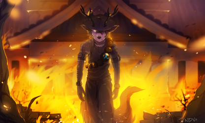 Shadow of the Flame by synderen