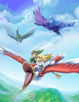 Skyward Sword by glance-reviver