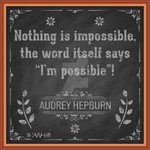 Audrey Hepburn Quote by kwhammes