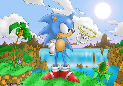Green Hill Zone by Nerkin