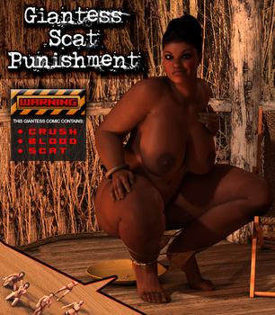 Giantess Scat Punishment (Comic Cover) by Yarifox