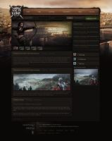 Slaves of Rome - Web design by Evil-S