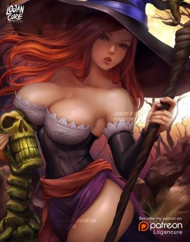 Sorceress Dragon's Crown by logancure