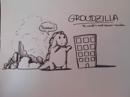 Groudzilla by SushiOkita