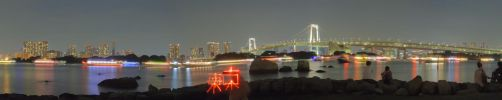 Tokyo at Night HDR by frenchbear