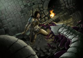 sewers trouble by Rhosk