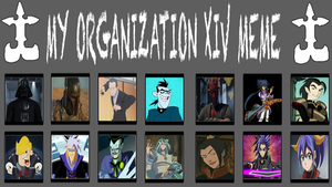 Mythic Hearts Organization XIV by MarioFanProductions