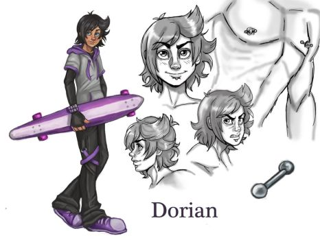 Dorian Reference by NatsumeWolf