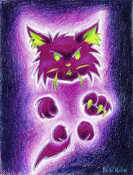 Ghost Kitty by Schlady