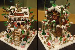 1Caramel Gingerbread Treehouse by Sliceofcake