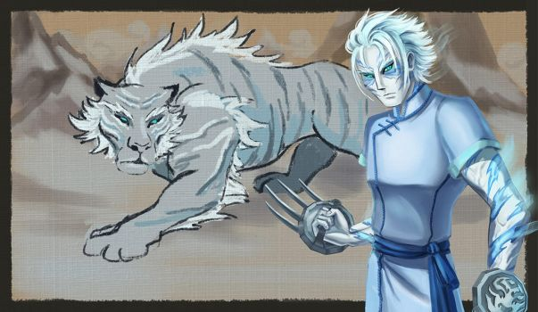 Xuen. The White Tiger. by KamuiEini