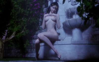 Breonna - Fountain of Love by Ranthar