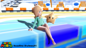 (MMD Model) Rosalina (Swimsuit) Download by SAB64