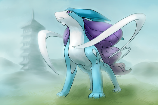 Suicune by Togechu