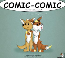 Comic-Comic Promotional Poster by LightLuxCollie