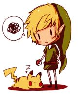 Link wat r u doing by Jasmineface