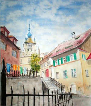 Interior of the Old Town by Kozzie001