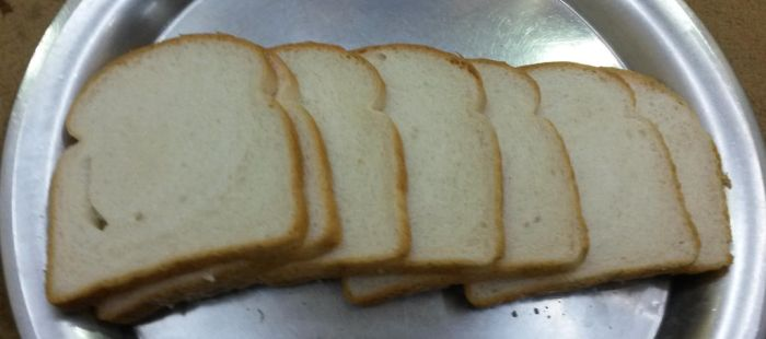 Just some fresh slices of toast bread by Wael-sa