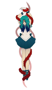 The Death of Sailor Neptune by Boywithmeese