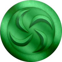 OOT Forest Medallion by BLUEamnesiac