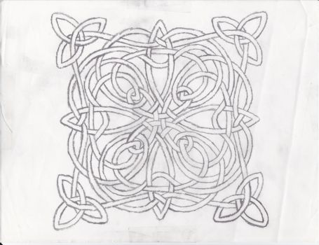 Celtic Knot Design by Grimstnzborith