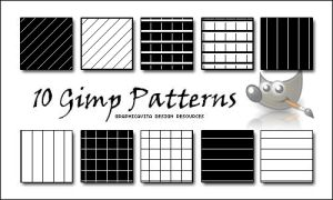 10 GIMP PATTERN by graphicavita