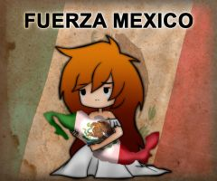 FUERZA MEXICO by kasumynuriko