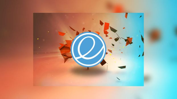 elementary os Blur red/blue by FabioMorales9999