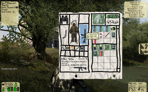 DayZ HUD Concept - Inventory by MouseDenton