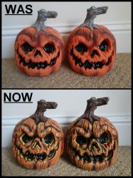 Pumpkins Was and Now by Joker-laugh