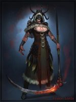 Female Necromancer 03 by Cynic-pavel